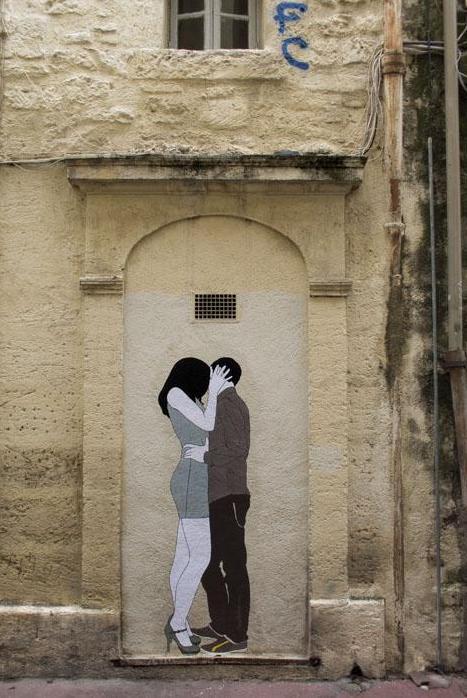 photo du baiser